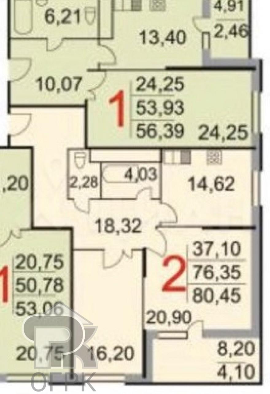 Купить 2-комнатную квартиру, город Котельники, улица Строителей, 17А, , дом 17А, №324715