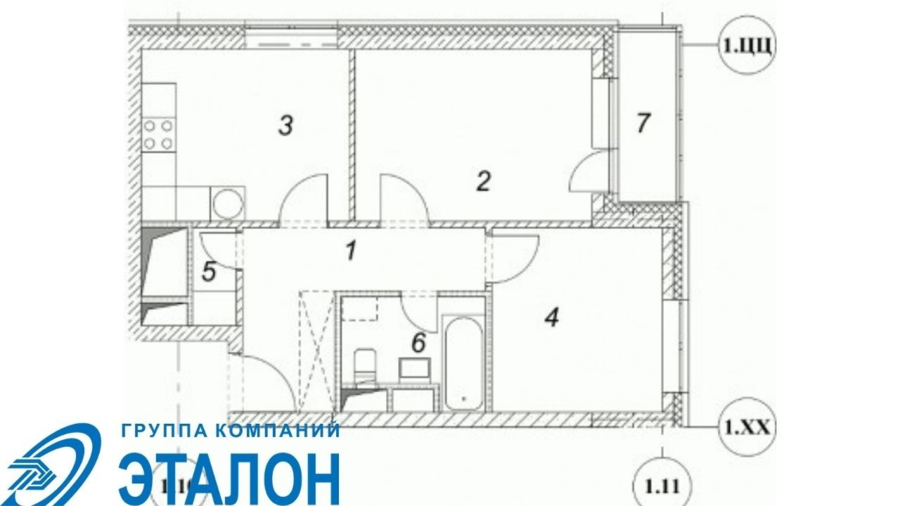Купить 2-комнатную квартиру,  Москва, Москва, Дмитровское шоссе, 107, №334938