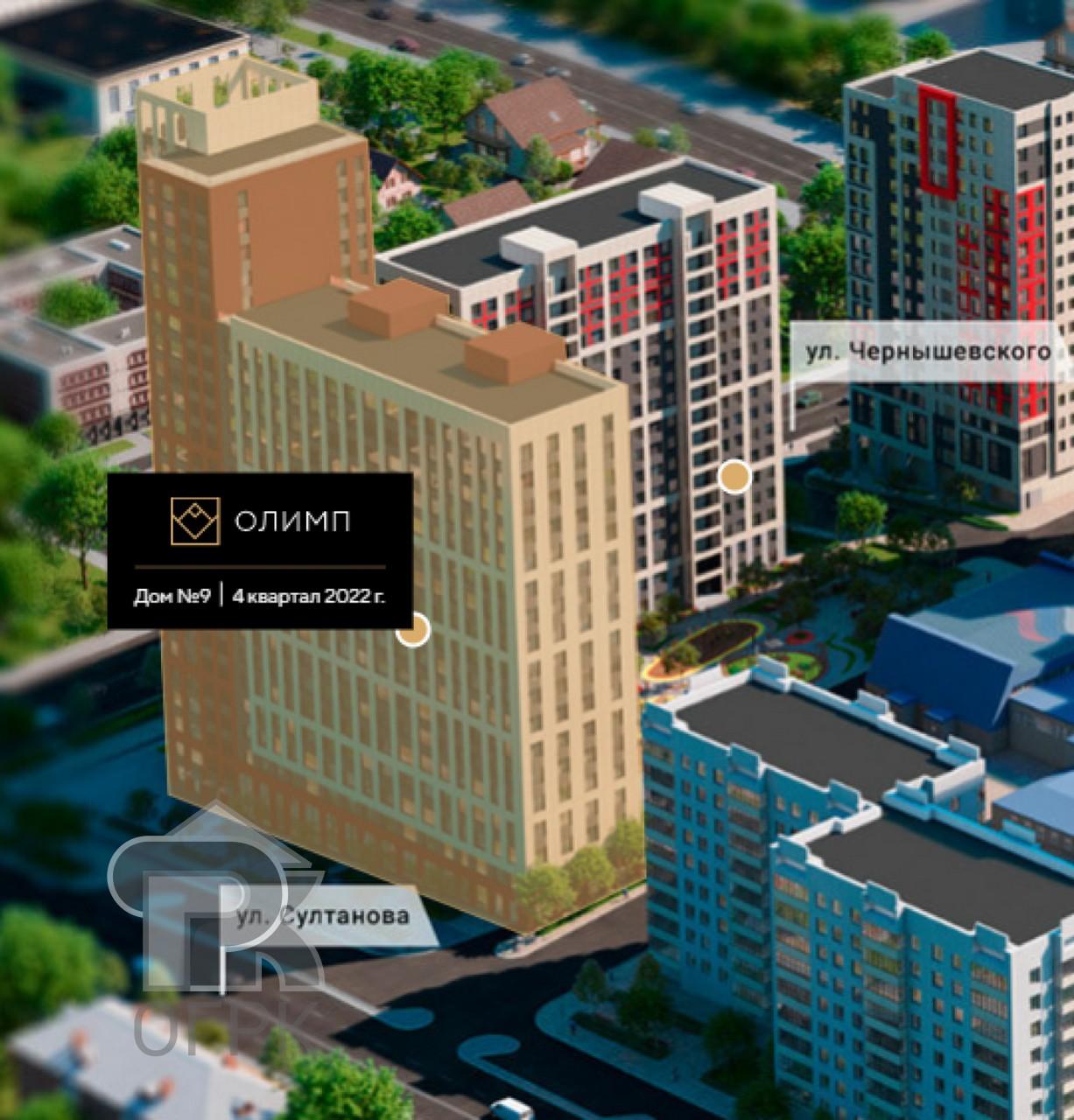 Купить 1-комнатную квартиру, №336353