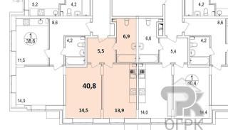 Купить 1-комнатную квартиру, город Люберцы, Люберцы, ул. Барыкина, д.4, №307034