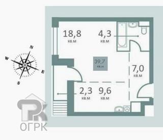 Купить 1-комнатную квартиру,  Москва, Москва, Мантулинская улица, 9к3, №326778