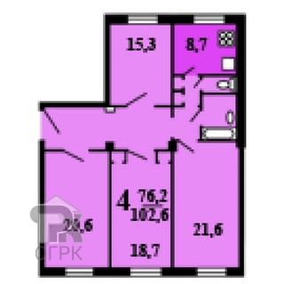 Купить комнату в 4-ккв, №333008